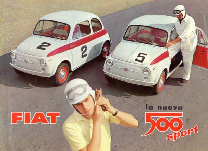 Fiat 500 B Sport 1957