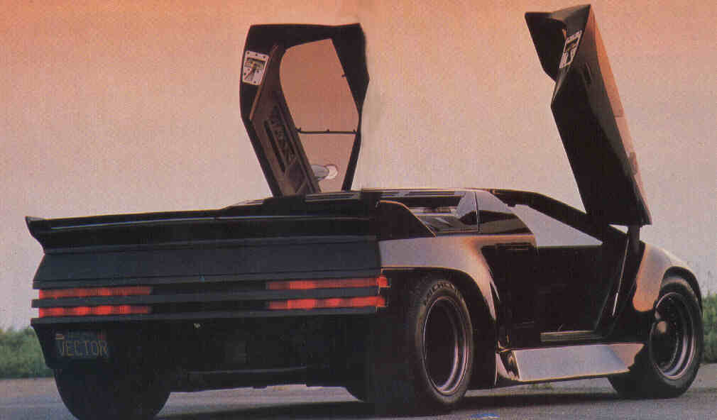 Vector W8 Twin Turbo Rear