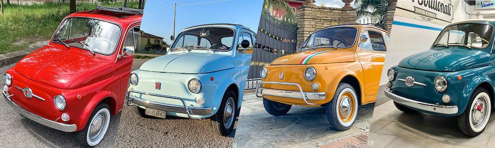 Fiat 500 Nuova Benzin annonce occasion enchere