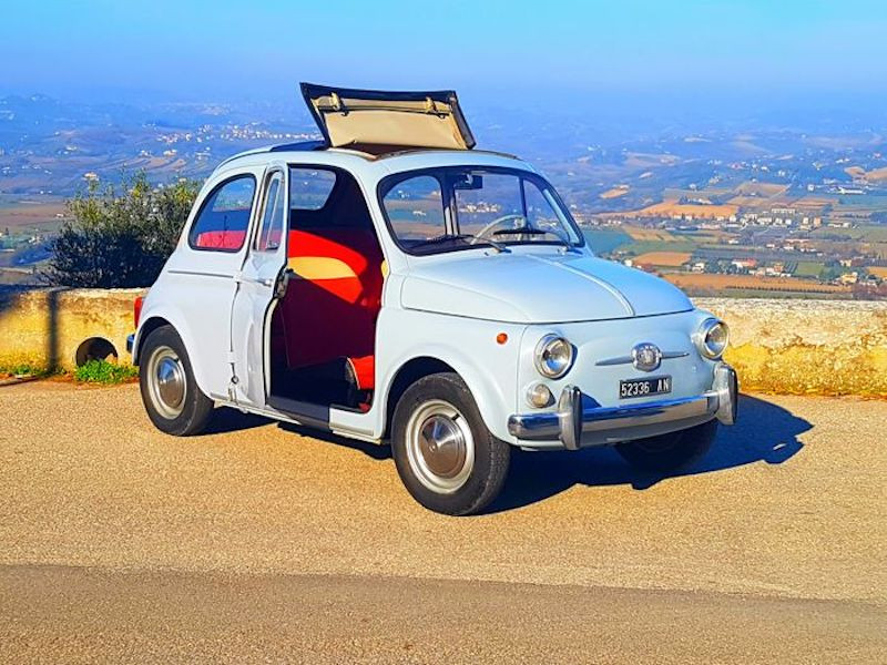 Fiat 500 D Nuova 1960