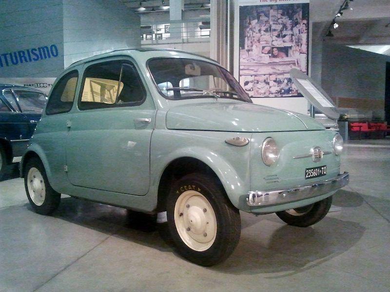 Fiat 500 A Nuova 1957 Normale