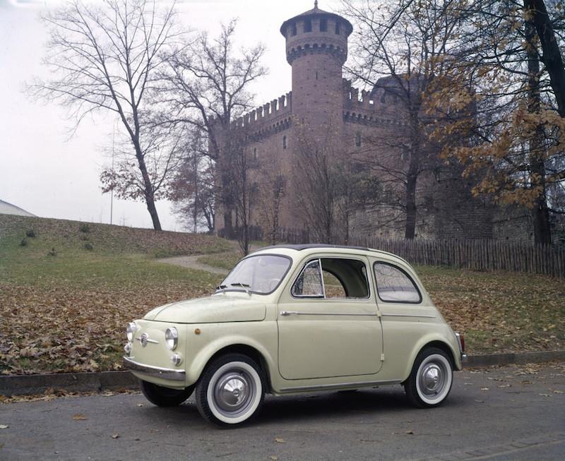 Fiat 500 C Nuova Tetto Apribile 1959