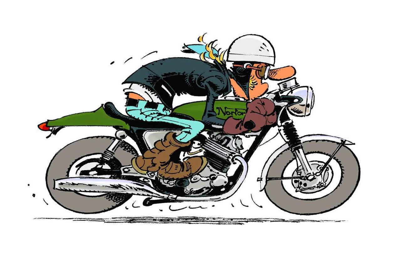 JOE BAR TEAM CAFE RACER BENZIN MOTORCYCLES