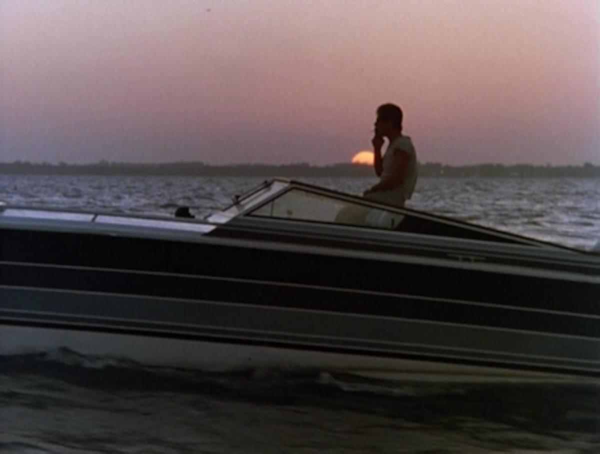 Miami Vice Scarab Boat